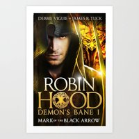 robin hood Art Prints featuring Robin Hood by amanet17