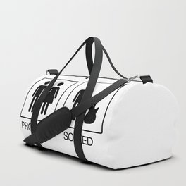 Problem solved with a bass guitar Duffle Bag
