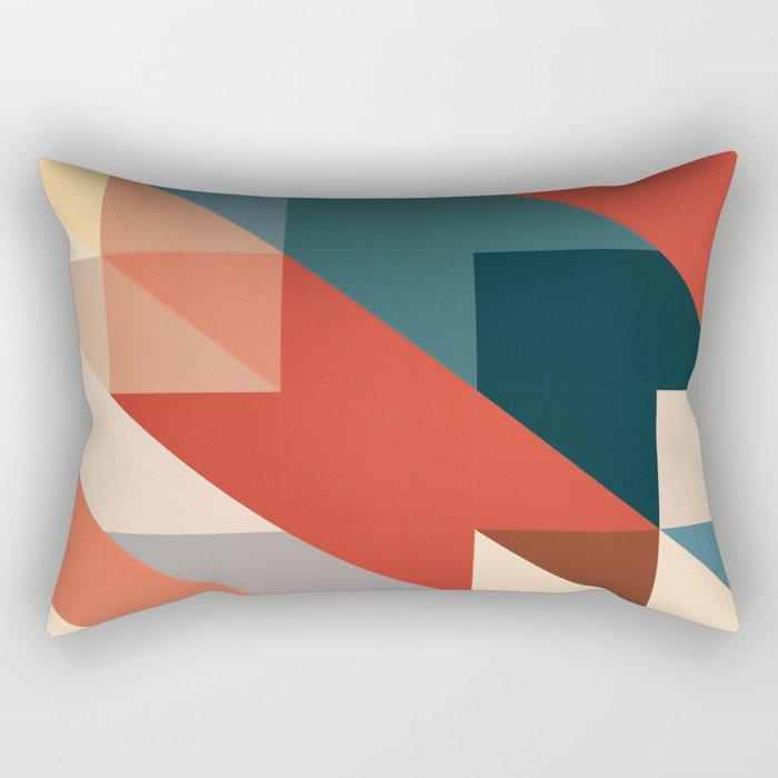 ABSTRACT 9D Rectangular Pillow