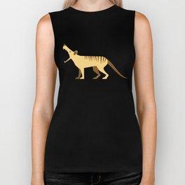 EXTINCT: Thylacine (Tasmanian Tiger) Biker Tank