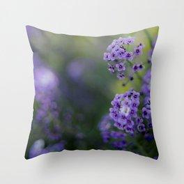 Rosmary Flower Throw Pillow