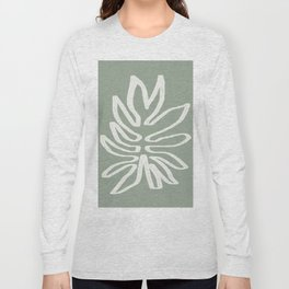Abstract Leaf Long Sleeve T-shirt