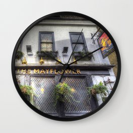The Mayflower Pub London Wall Clock