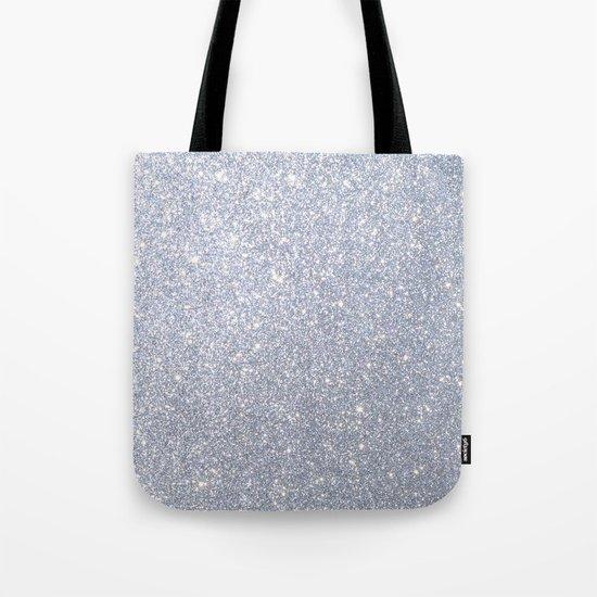 Silver Metallic Sparkly Glitter by podartist