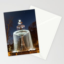 Water Fountain Stationery Cards