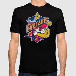 Starfleet Academy Captains Baseball T-shirt