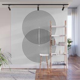 Pure & Simple Minimal Circles Wall Mural