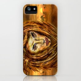 The King of Africa iPhone Case