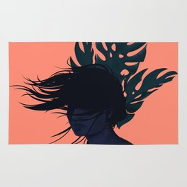 Windy day Rug