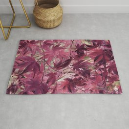 Red Fall Rug