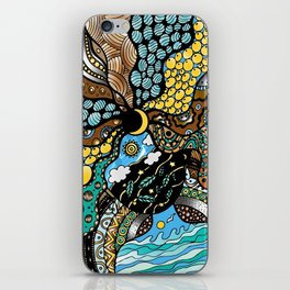 She is Mother Earth iPhone Skin