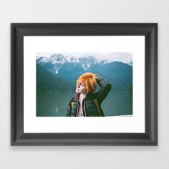 Soak It In Framed Art Print