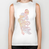 sailor venus Biker Tanks featuring Sailor Venus by Dixie Leota