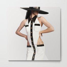 Balmain Dress Metal Print