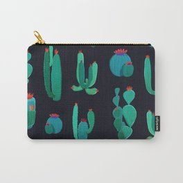 cactus pure green Carry-All Pouch