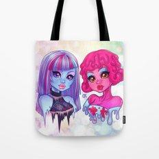 Blob & Ice Girl Tote Bag