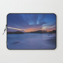 Sunset at the beach Laptop Sleeve