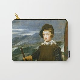 """Diego Velázquez """"Prince Balthasar Charles as a Hunter"""" Carry-All Pouch"""