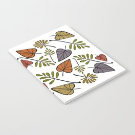 Falling Leaves of Autumn Notebook