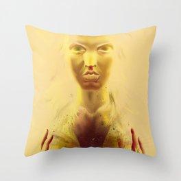 pitonisa Throw Pillow
