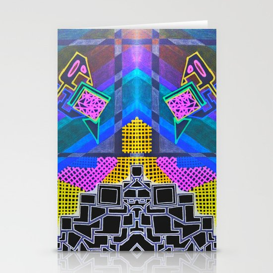 Abstract 2B Stationery Cards