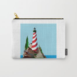 The Lighthouse on a Sunny Day Carry-All Pouch
