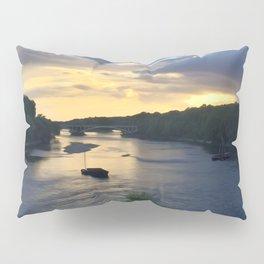 Sunset Sailing on the Loire Pillow Sham