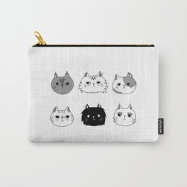 Unfriendly Cats Carry-All Pouch