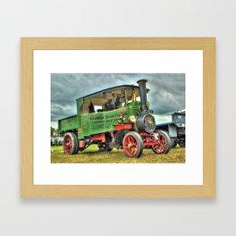 Foden Steam Wagon Framed Art Print