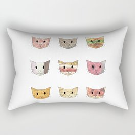 Food & Cats Rectangular Pillow