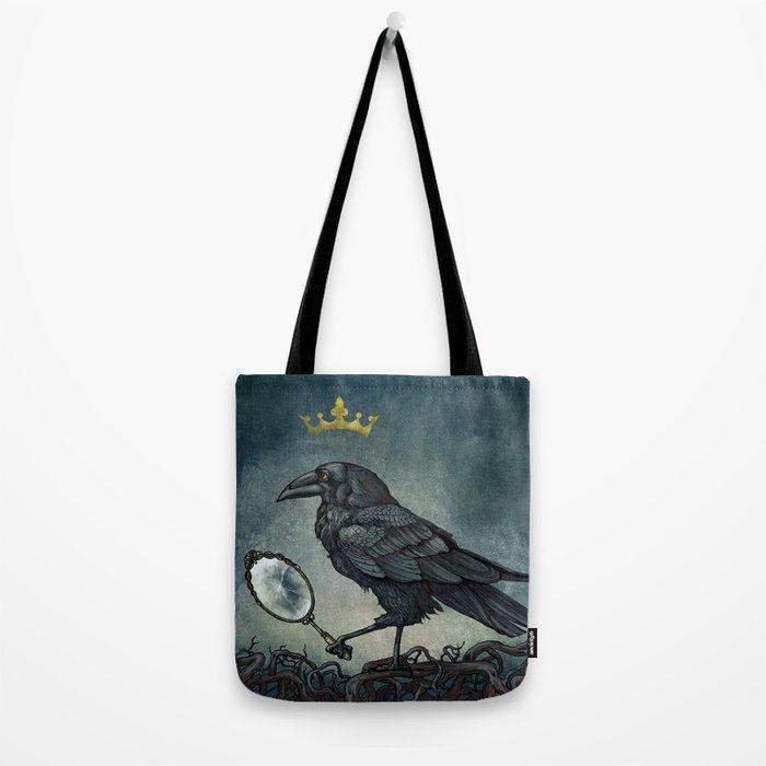 Raven King Tote Bag
