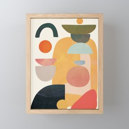 Modern Abstract Art 70 Framed Mini Art Print