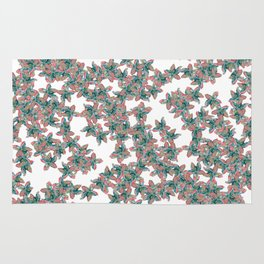 Little Colorful Flowers Rug