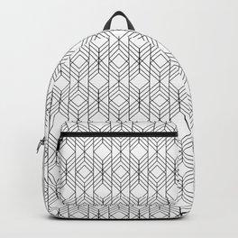 Art Deco Geometry 4 Backpack