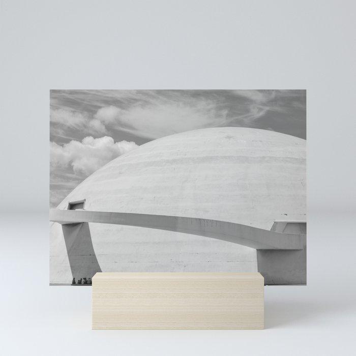 Niemeyer   architect   National Museum Mini Art Print