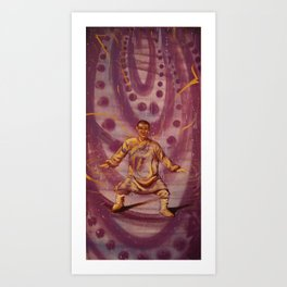 Floating On Water Art Print