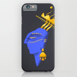 Dreams of gold iPhone Case