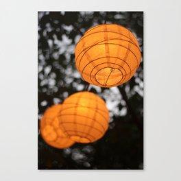 Enchanted Lanterns Canvas Print