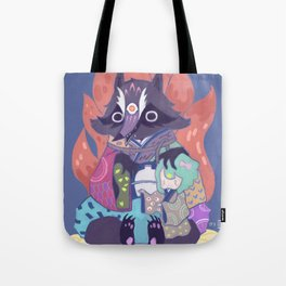 Tanukikitsune Tote Bag