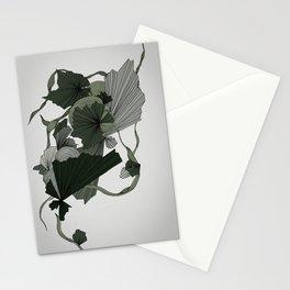 Bohemian botanical line illustration Stationery Cards