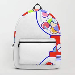 Gum Ball Machine Backpack