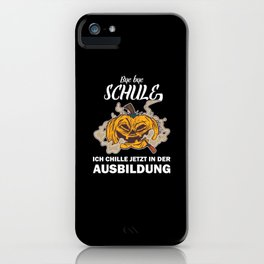 School-leaving certificate Secondary school leaving certificate Gift Real Haupt iPhone Case
