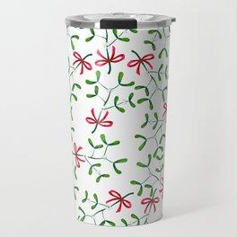 Meet me under the Mistletoe Travel Mug