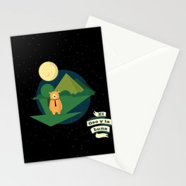 El Oso y la Luna Stationery Cards