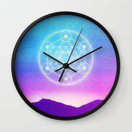 Sacred Geometry (Metatron) Wall Clock