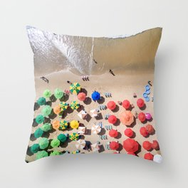 Sunday Somewhere Throw Pillow