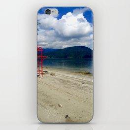 Lake View iPhone Skin