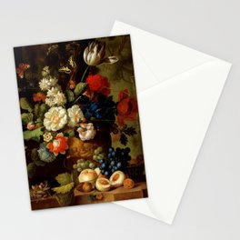 "Jan van Os ""Flowers"" Stationery Cards"