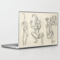 body Laptop & iPad Skins featuring Body by Gaia Armyrantis Trampedach