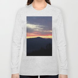 Sunrise over the Sierra Nevada Foothills Long Sleeve T-shirt